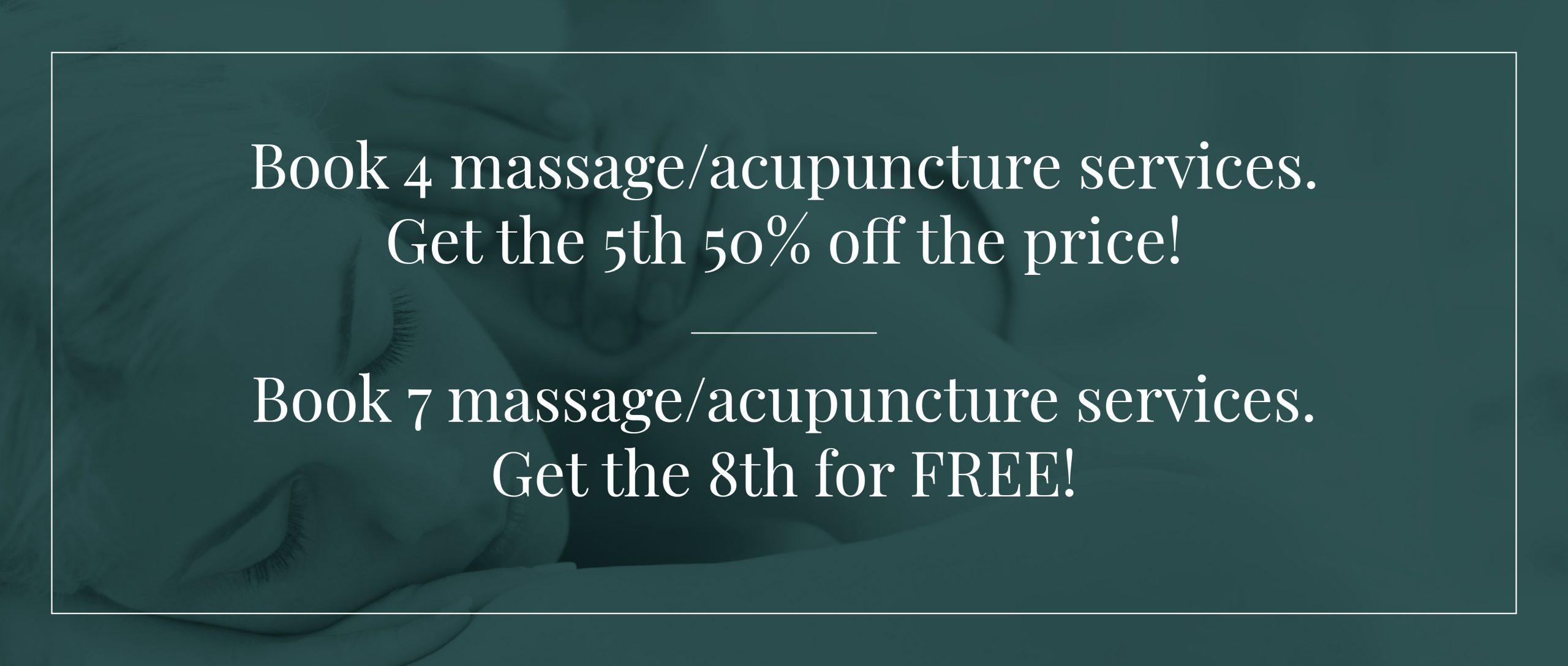 Promo Massage Acupuncture
